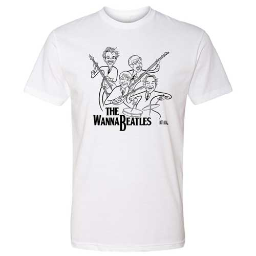 The WannaBeatles Caricature T-Shirt